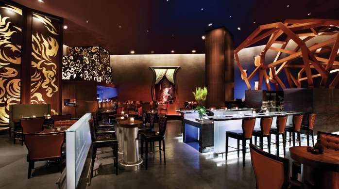 Izakaya is a modern Japanese Pub at Borgata Hotel Casino & Spa.