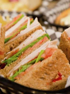 Satisfy your hunger any time with a huge selection of deli favorites.