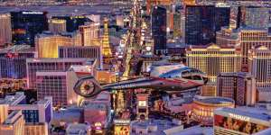 Fly high above the Strip as you witness stunning views aboard a luxury helicopter.
