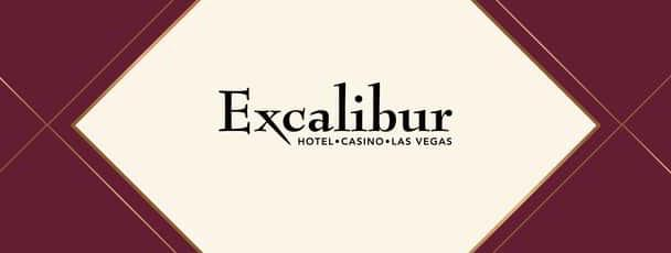 Logo graphic for the Excalibur concluding promotional pool poker tournament