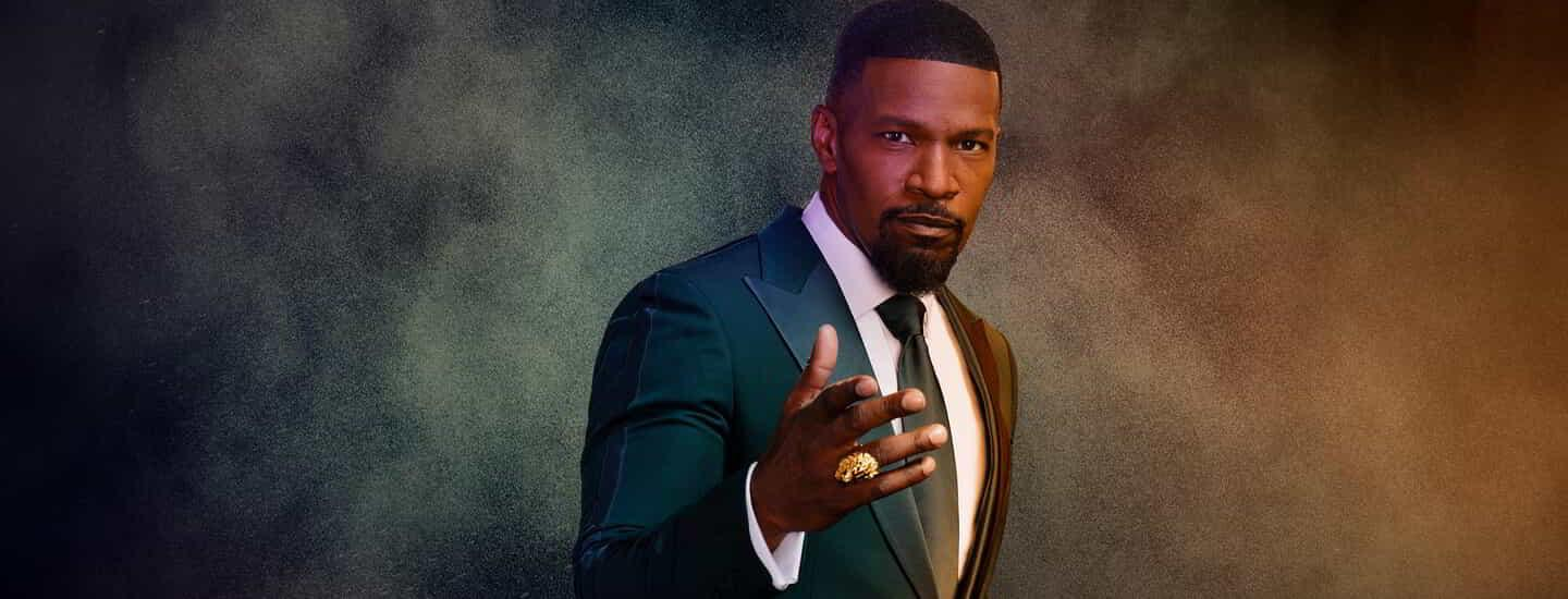 MGM Resorts BetMGM Jamie Foxx Boxing King of Sportsbooks standing.