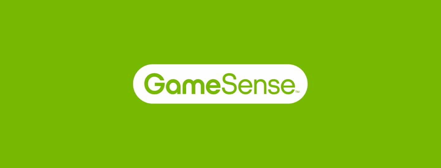 The GameSense wordmark logo.