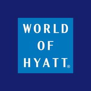 World of Hyatt Logo.