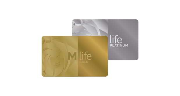 M life Cascading Cards with Gold and Platinum.