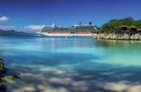 A view from Labadee island.