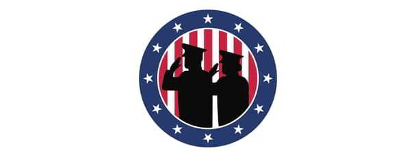 This image is of the Military Veterans Program Medallion.