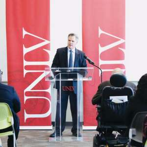 MGM Resorts CEO Jim Murren Speaking to UNLV Students