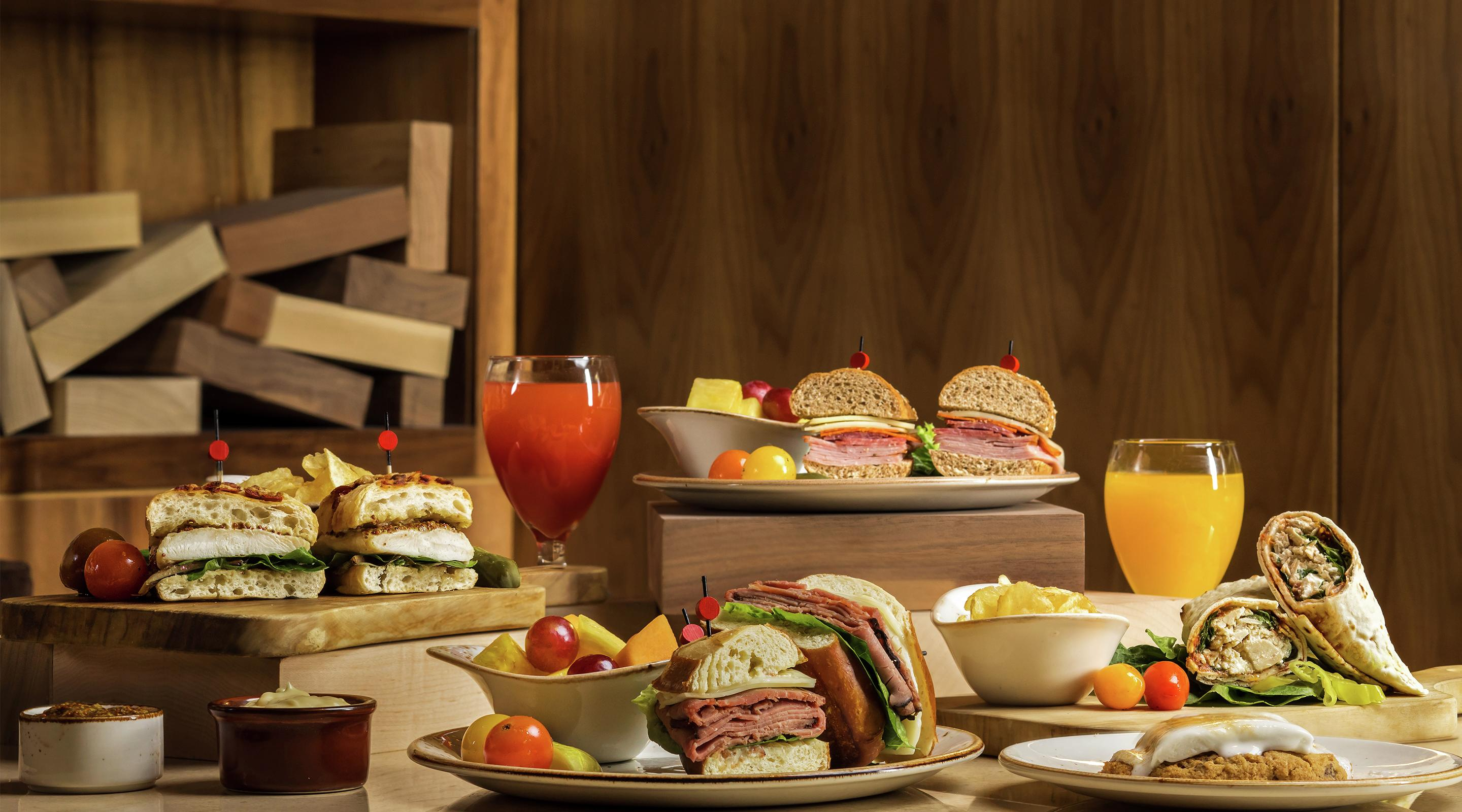 Lunch Collection image from 3940 at Delano Las Vegas.