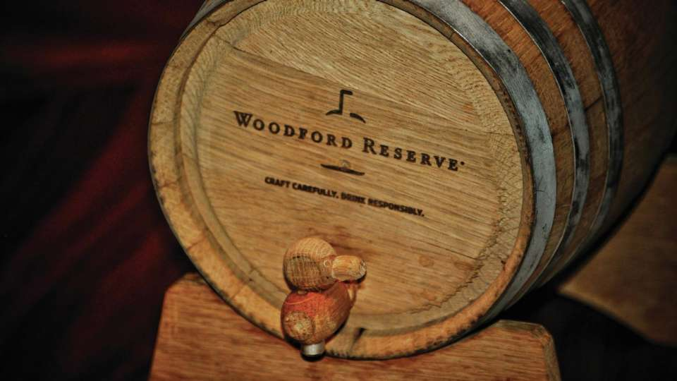 The Woodford Reserve Whiskey Barrel Program at Franklin Lounge