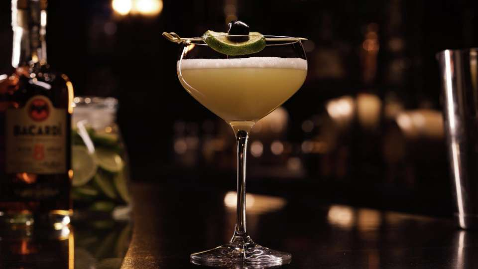 A daquiri from Franklin Lounge at Delano Las Vegas.