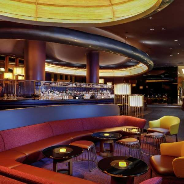 Skyfall Lounge Interior Seating
