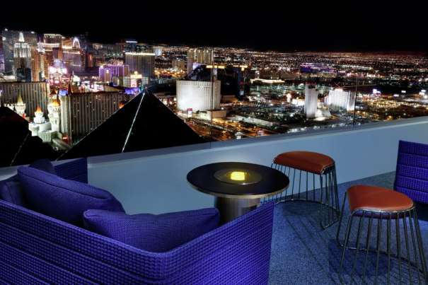 Skyfall Lounge Balcony Seating with Strip View