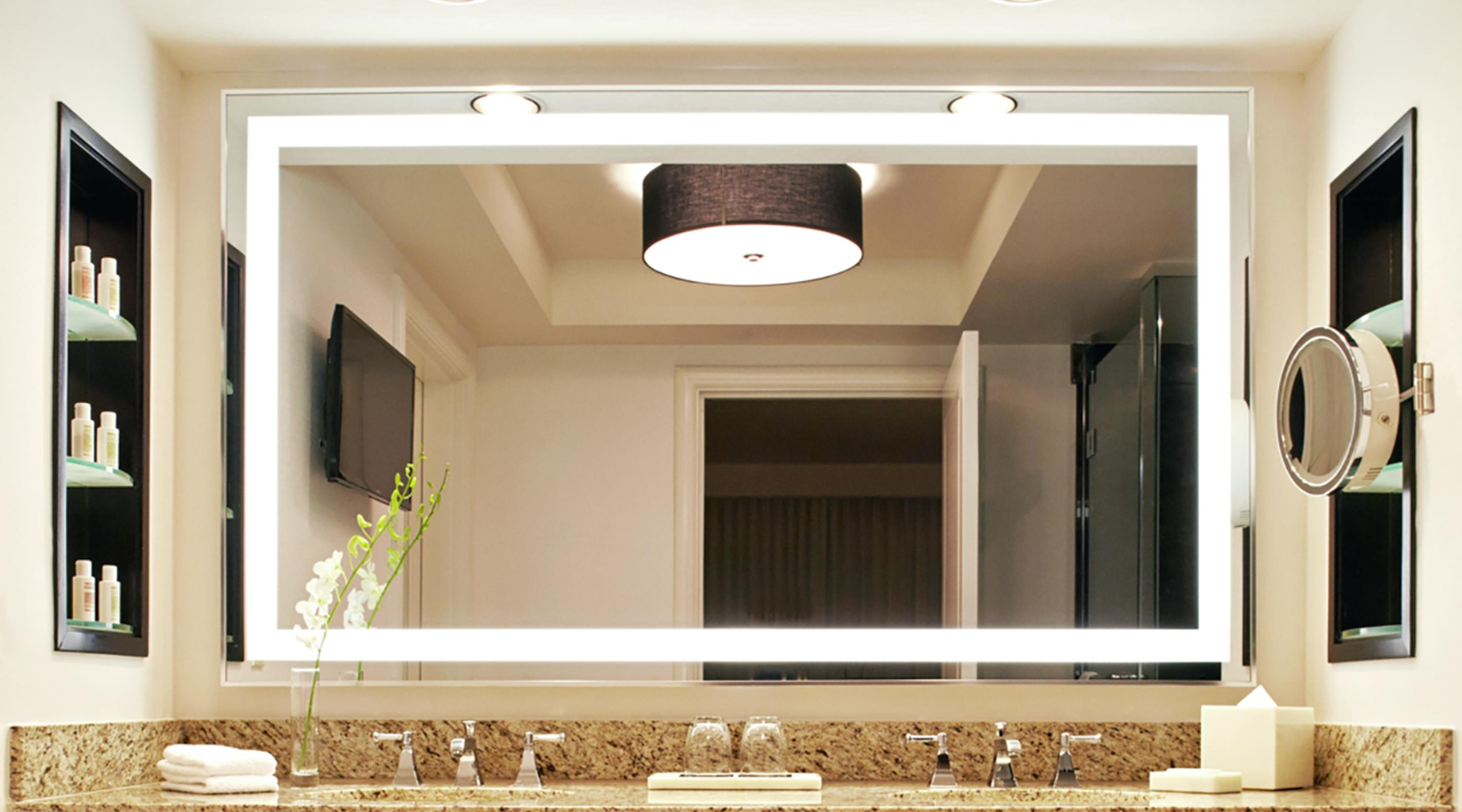 Each Delano Suite features a spacious spa-style bath.