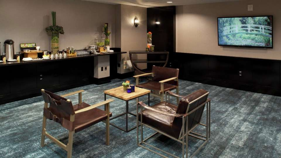 Delano Las Vegas' meeting rooms provide a unique atmosphere for our business travelers.