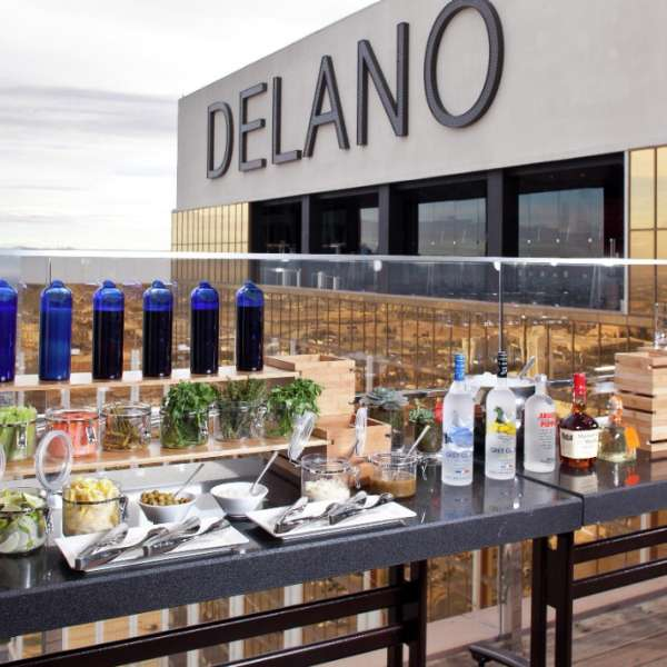 Delano Las Vegas offers unique spaces such as miX for group gatherings