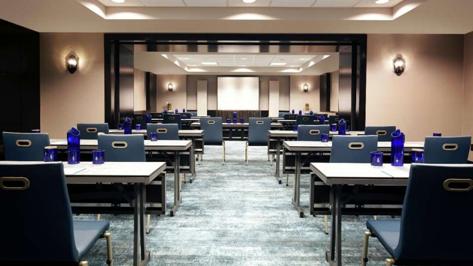 Delano Las Vegas meetings classroom set up