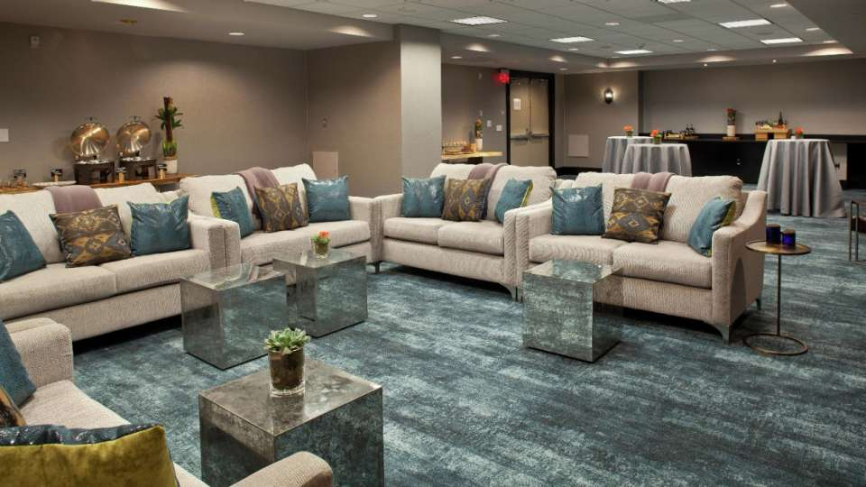 Delano Las Vegas offers a relaxed business atmosphere or an ideal social setting in our 1200 square foot Delano Living Room.
