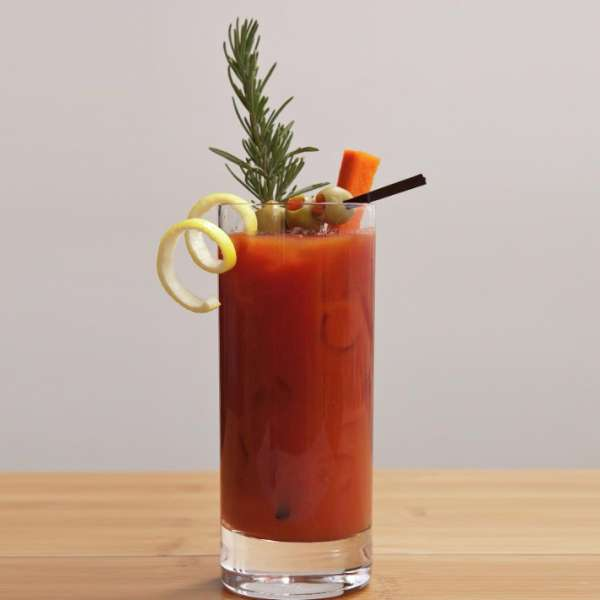 Delano Las Vegas catering offers an array of refreshments, including this delicious bloody mary.