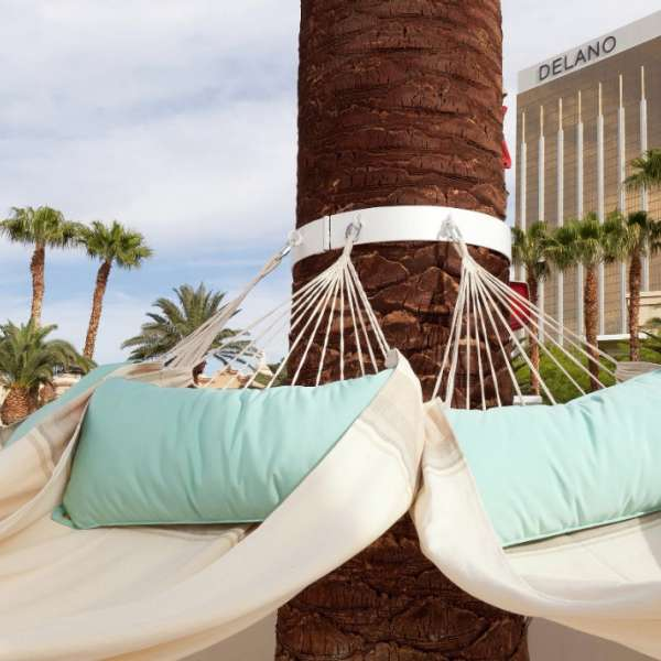 Exclusive to Delano Las Vegas guests, Delano Beach Club is a luxurious pool club with whimsical elements and personalized services synonymous with the boutique hotel.