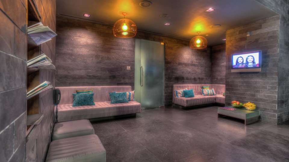 Lounge Area At Bathhouse Spa