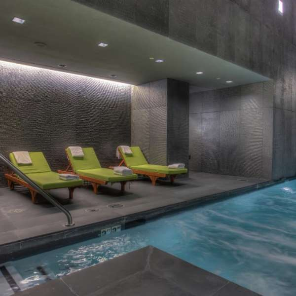 Pool Area At Bathhouse Spa