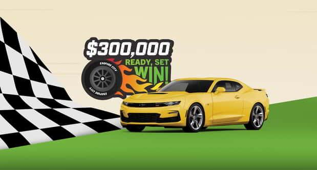 300,000 Ready Set Win Promotion Graphic