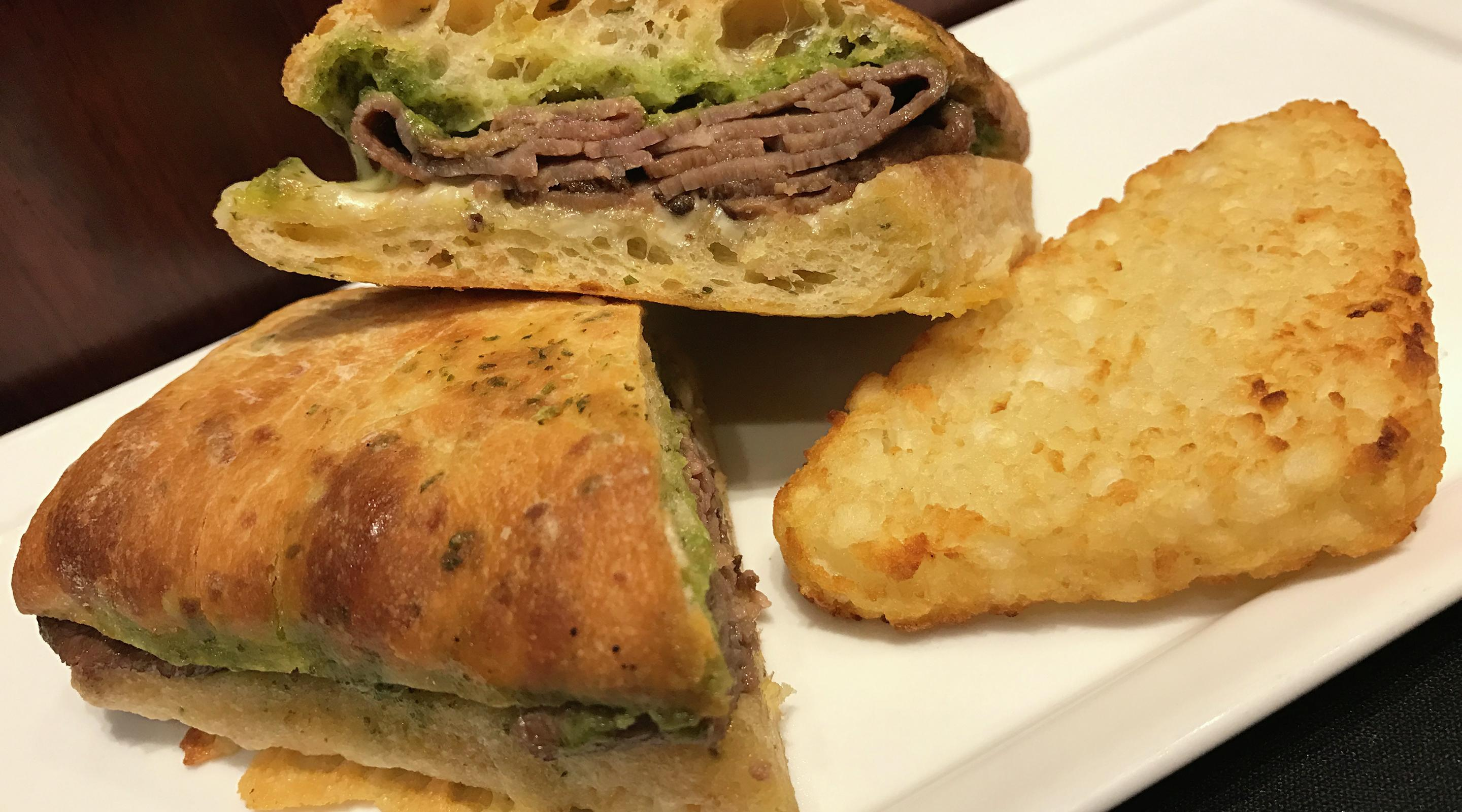 Savory sandwiches from Castle Coffee, the best way to jump start your adventure.