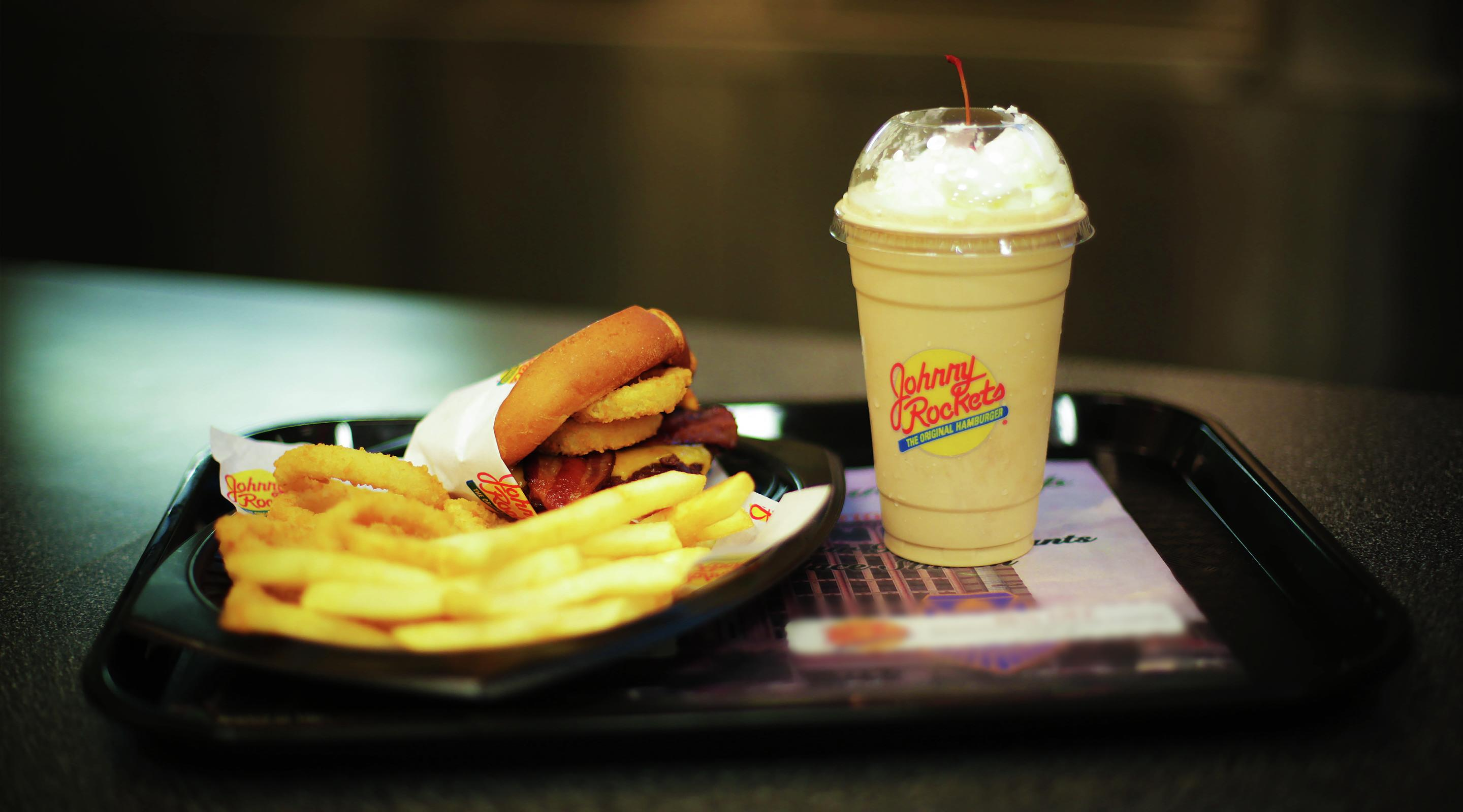 This is an image of Johnny Rockets' burger.