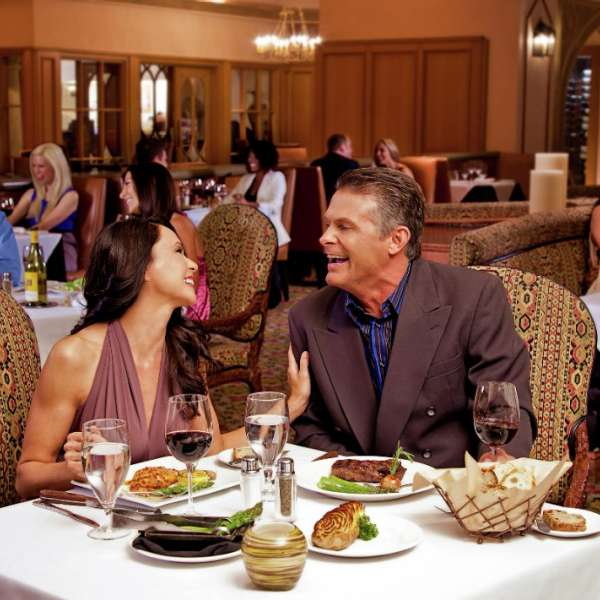 This is an image of the Steakhouse with couples.