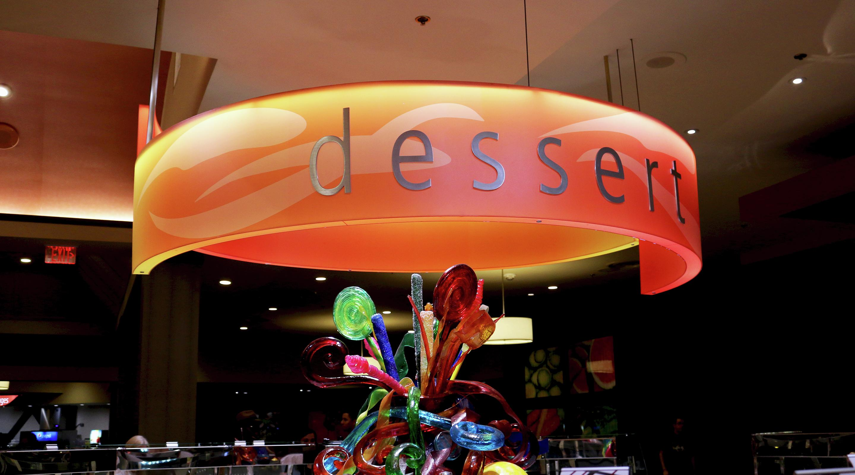 Experience our interactive dessert station with a never-ending assortment of sweets and treats.