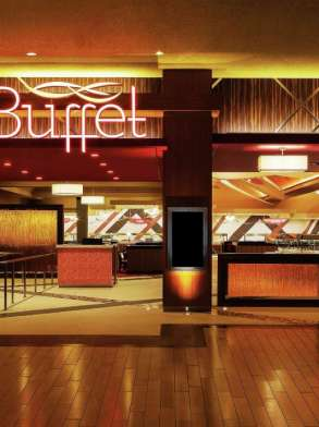 This is an image of the exterior to The Buffet.