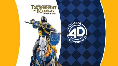 Ticket to Tournament of Kings + All-Day Pass to the 4-D Theater Experience.