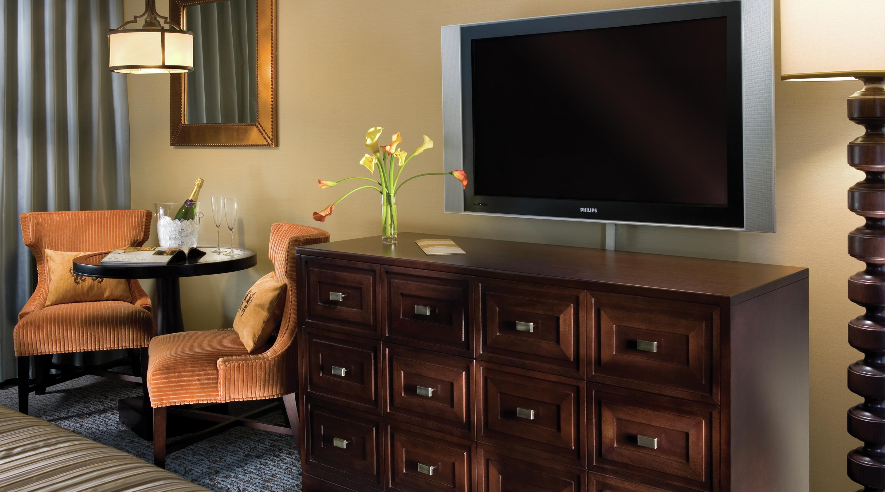 This is an image of the Resort Tower TV Set.