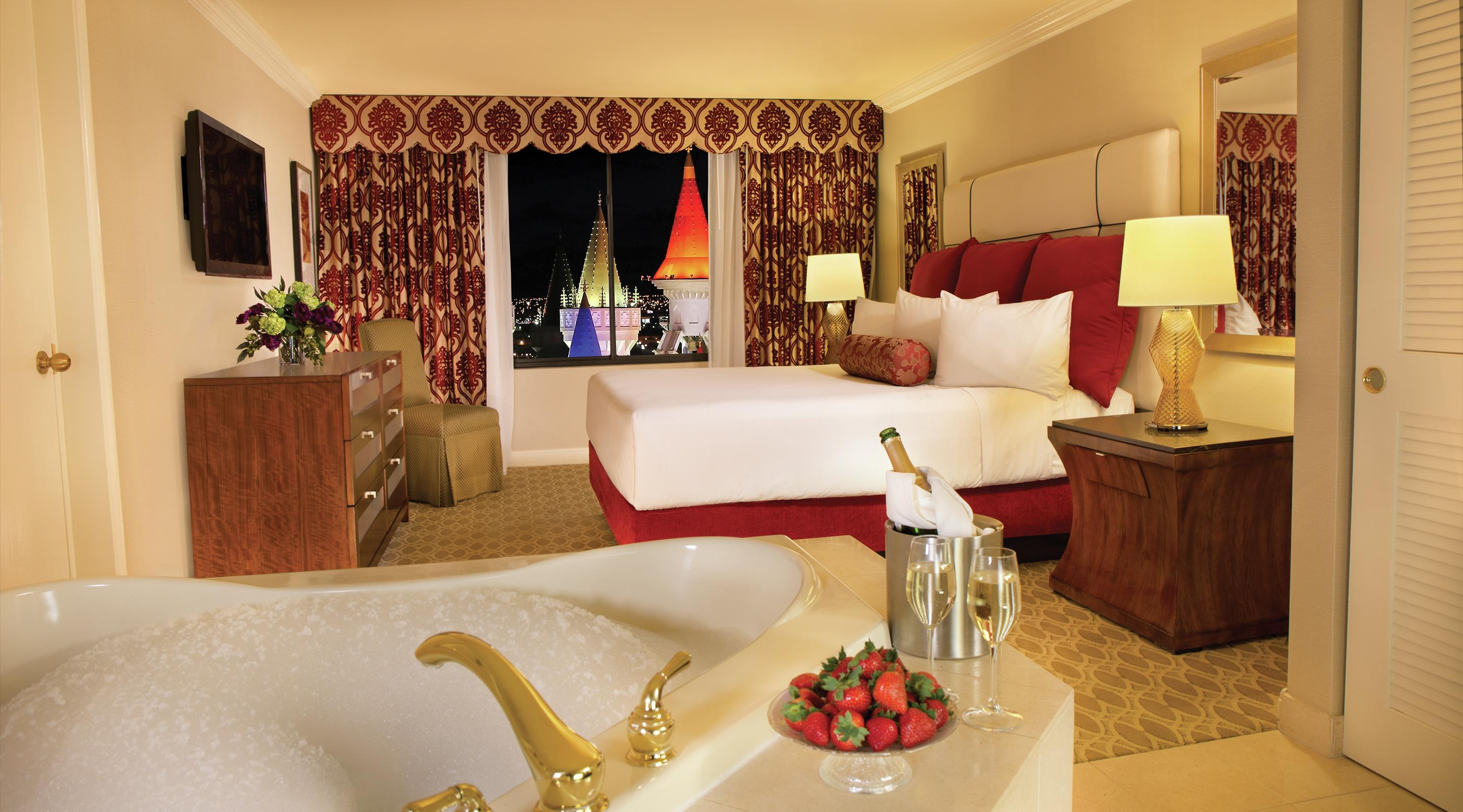 This is an image of the Royal Luxury Suite Bedroom.