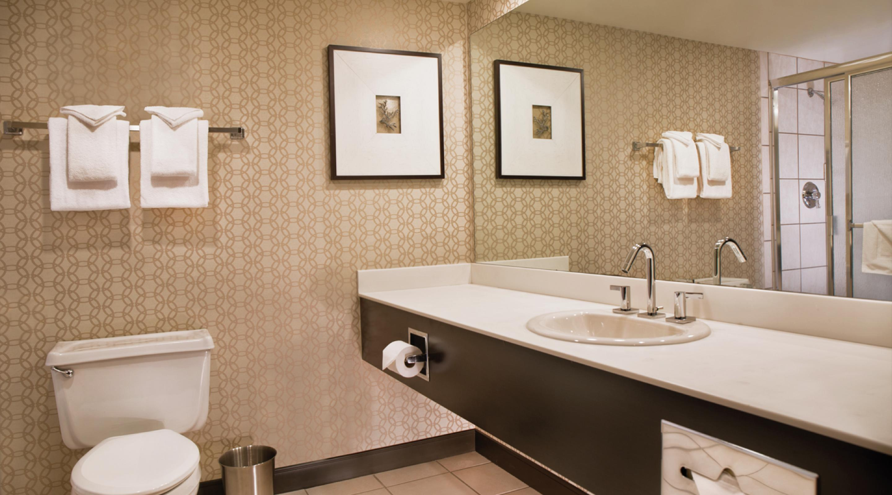 This is an image of the Royal Tower Bathroom.
