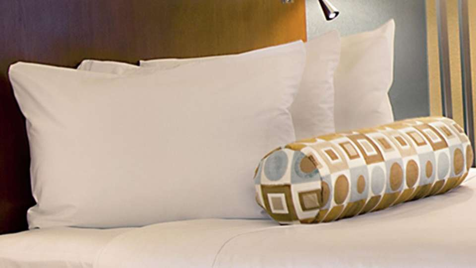 This is an accent image of the Royal Tower Pillows.