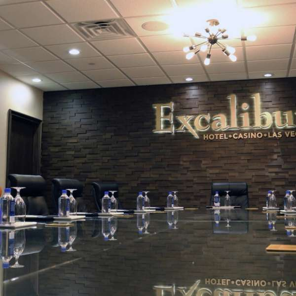Excalibur Boardroom Meeting space.