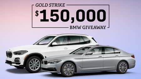 Gold Strike BMW Spring Giveaway 2021