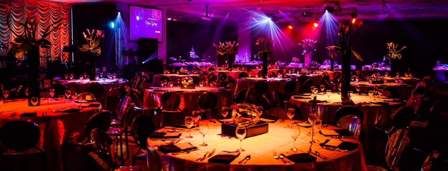 Encore Event Technologies is our preferred audio visual provider.