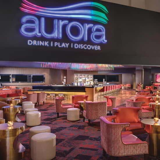 An interior shot of Aurora.