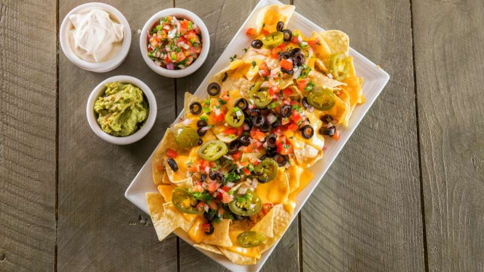 Nachos and Cheese.