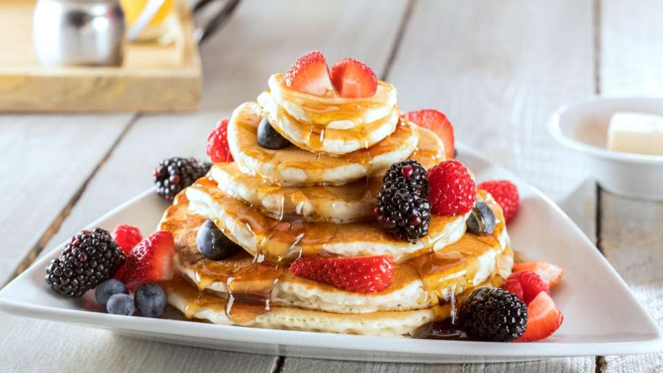 Pyramid Pancake Stacks.