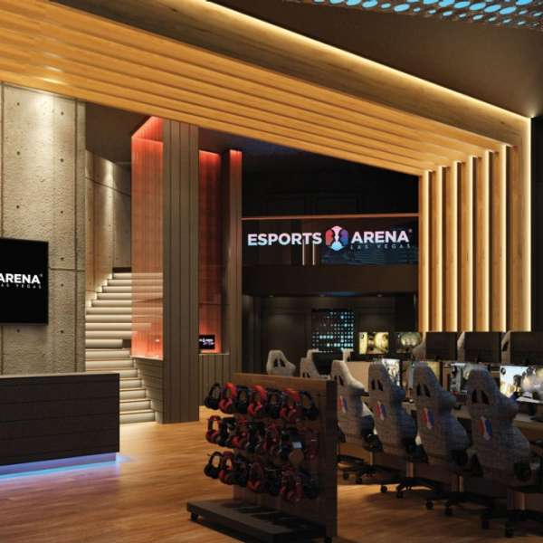 A rendering image for the new Esports Arena lobby.