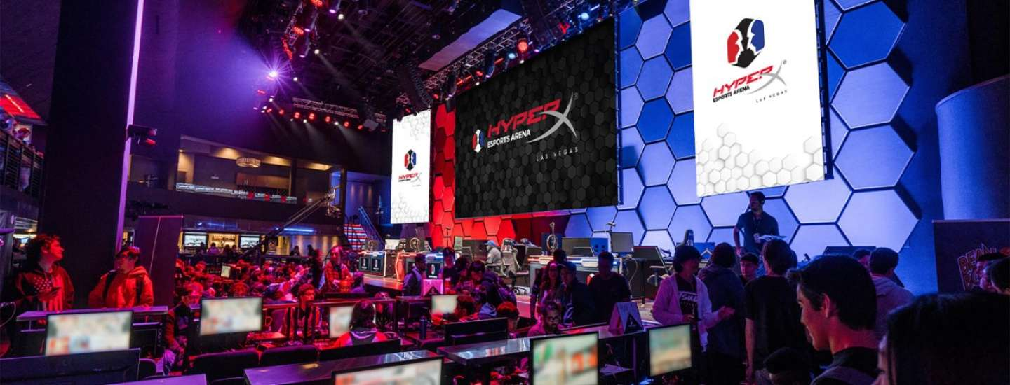 An overview image for Hyperx Esports Arena.