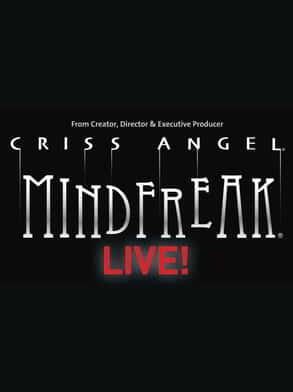 The title image for Criss Angel Mindfreak Live!