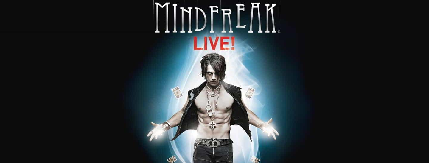 The header and tile image for Criss Angel Mindfreak Live.