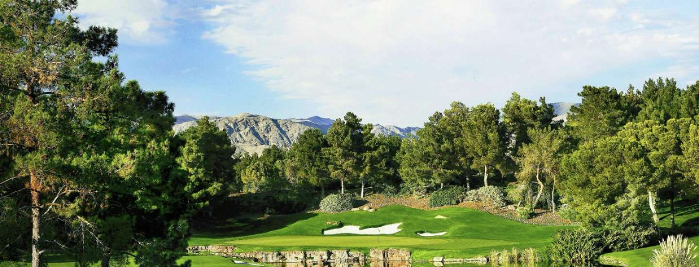 Enjoy Luxor amenities such as golfing at Shadow Creek Golf Course.