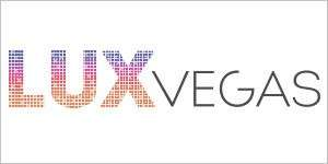 Website logo for the LUX Vegas Store.