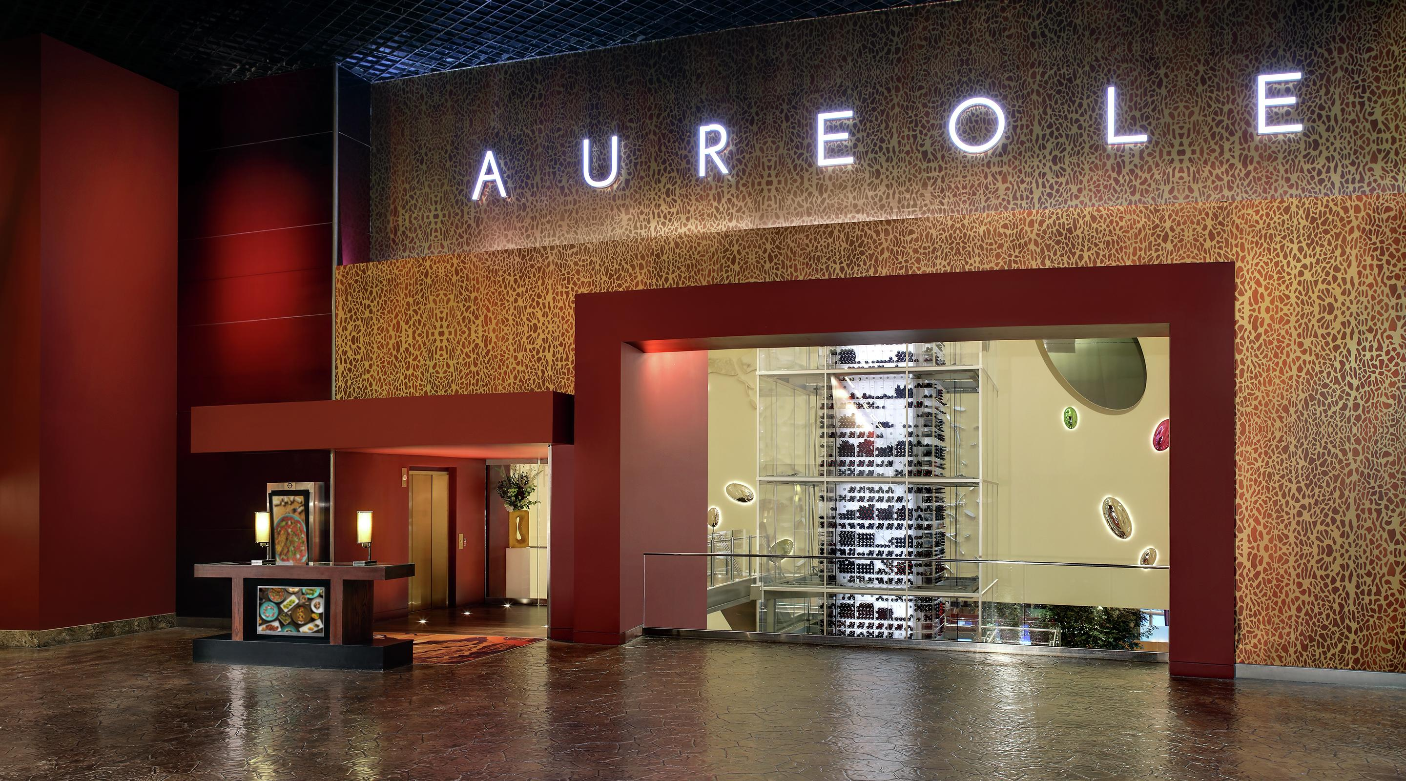 Aureole reimagined, redesigned space offers a new tasting table experience.