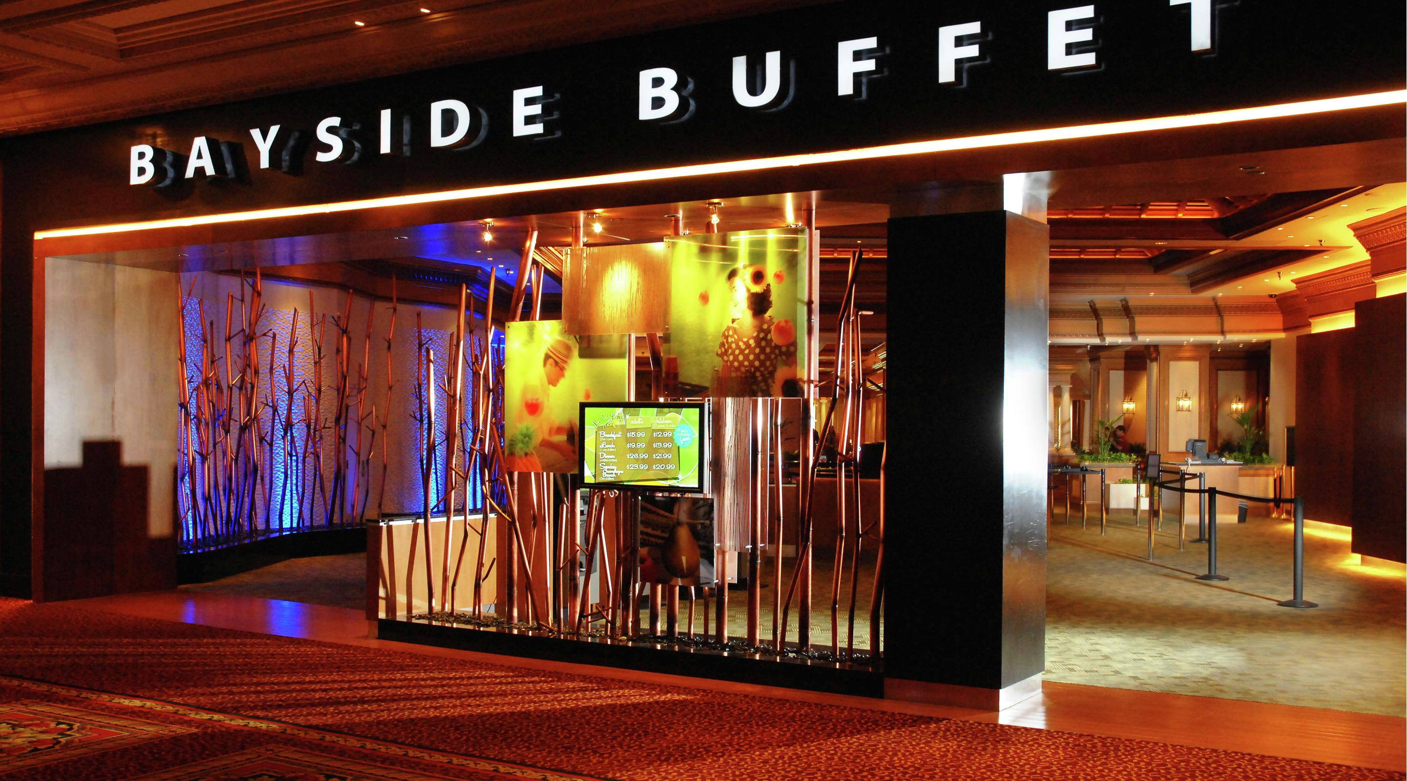 The front entrance of Bayside Buffet.